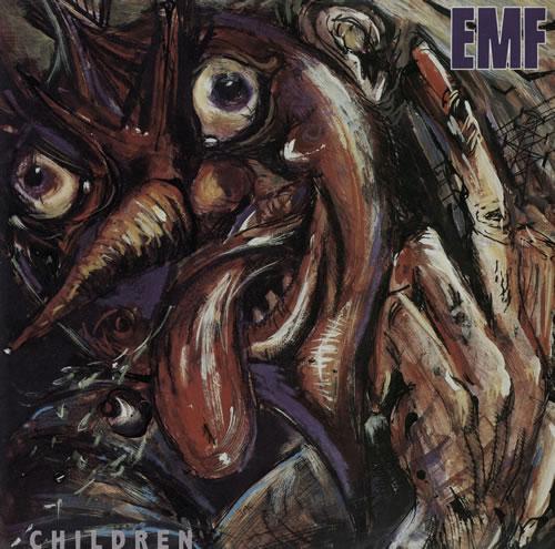 """EMF Children 7"""" vinyl single (7 inch record) UK EMF07CH570169"""
