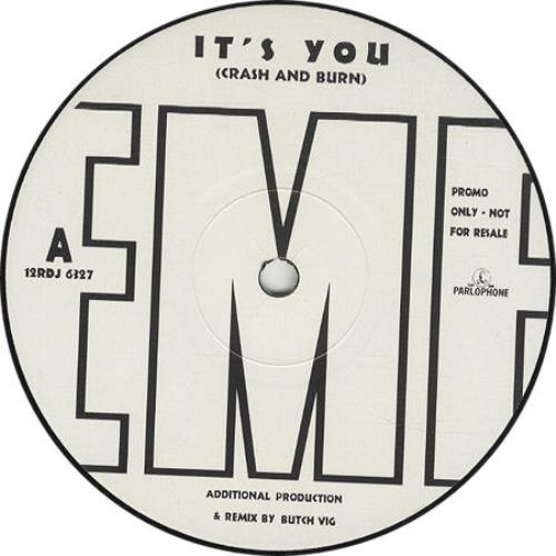 "EMF It's You (Crash And Burn) 12"" vinyl single (12 inch record / Maxi-single) UK EMF12IT316219"