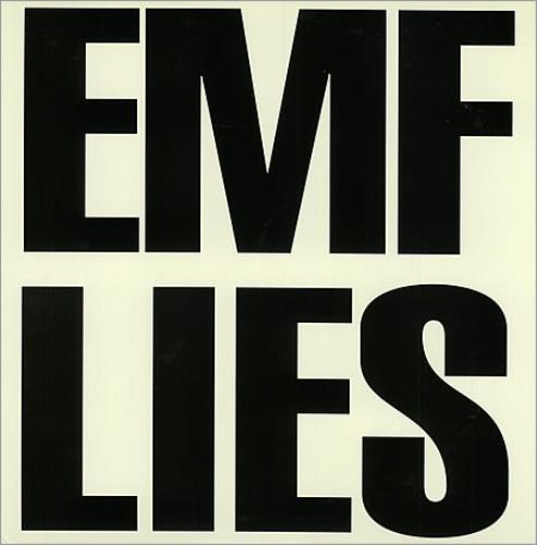 "EMF Lies 12"" vinyl single (12 inch record / Maxi-single) US EMF12LI22765"