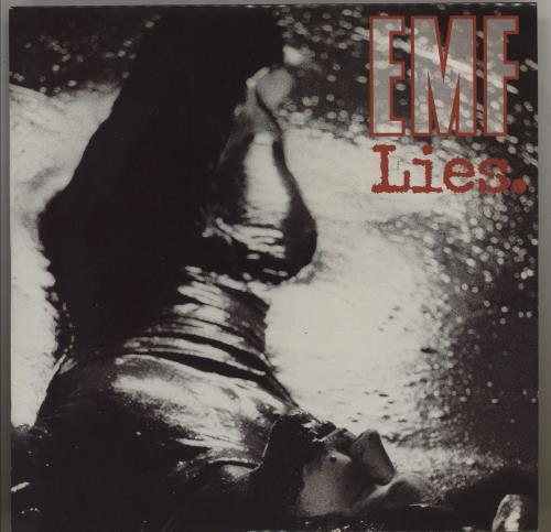"EMF Lies 7"" vinyl single (7 inch record) UK EMF07LI750445"