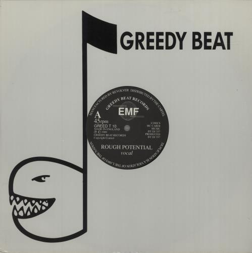 "EMF Rough Potential 12"" vinyl single (12 inch record / Maxi-single) UK EMF12RO684465"
