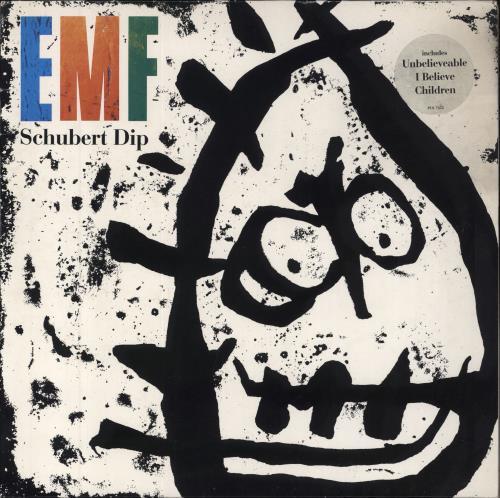 EMF Schubert Dip - Hype stickered sleeve vinyl LP album (LP record) UK EMFLPSC589283
