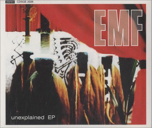 """EMF Unexplained E.P. CD single (CD5 / 5"""") UK EMFC5UN41261"""