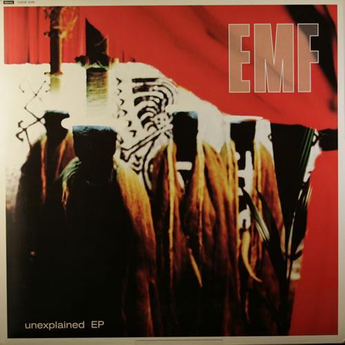 "EMF Unexplained EP 12"" vinyl single (12 inch record / Maxi-single) UK EMF12UN210229"