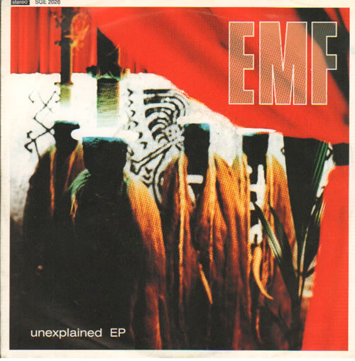 "EMF Unexplained EP 7"" vinyl single (7 inch record) UK EMF07UN642089"