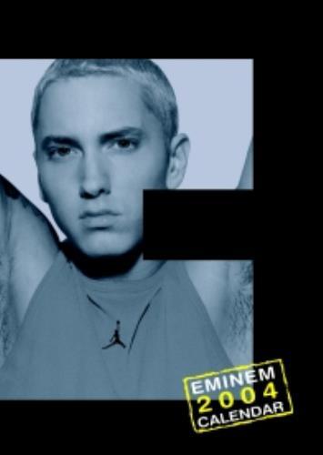 Eminem Calendar 2004 calendar UK INECACA251702