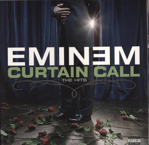 Eminem Curtain Call - The Hits US 2-LP vinyl record set (Double ...