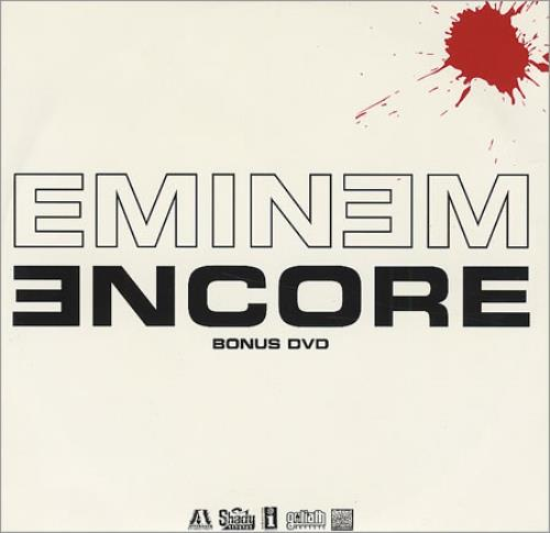 Eminem Encore Bonus DVD only Japanese DVD Single (407377)