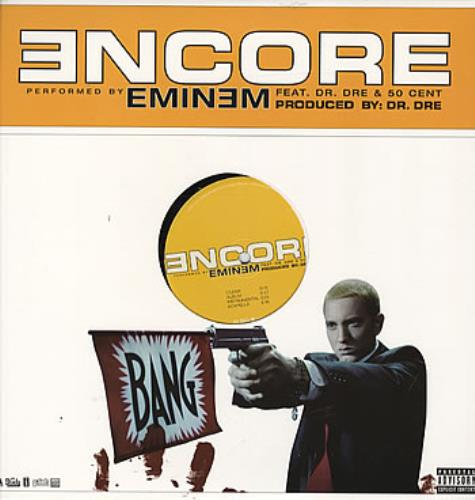 "Eminem Encore US 12"" vinyl single (12 inch record / Maxi ..."
