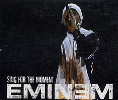 "Eminem Sing For The Moment CD single (CD5 / 5"") European INEC5SI236652"