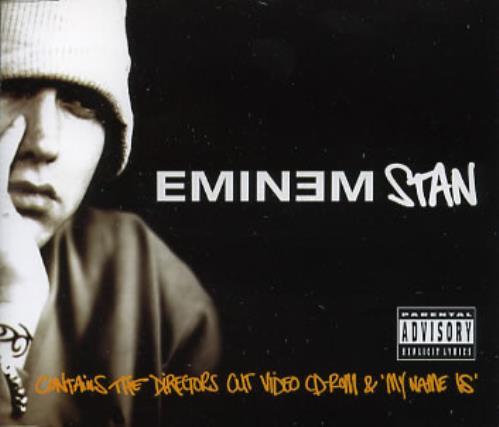 """Eminem Stan CD single (CD5 / 5"""") UK INEC5ST172378"""