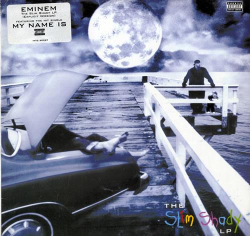 Eminem The Slim Shady 2-LP vinyl record set (Double Album) US INE2LTH199230