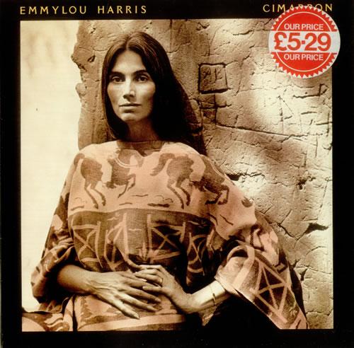 Emmylou Harris Cimarron vinyl LP album (LP record) UK ELHLPCI433966