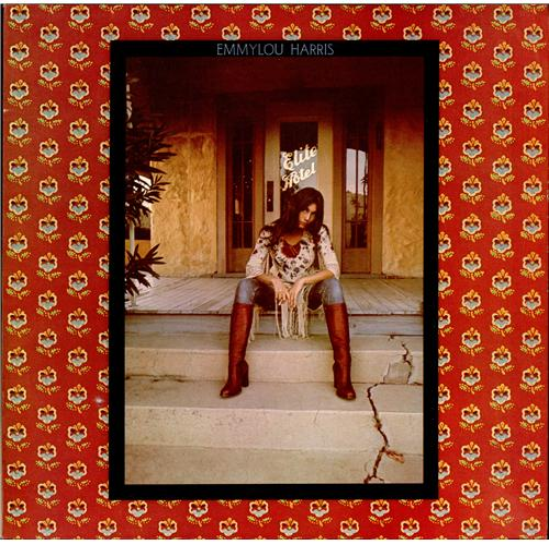 Emmylou Harris Elite Hotel vinyl LP album (LP record) UK ELHLPEL175124