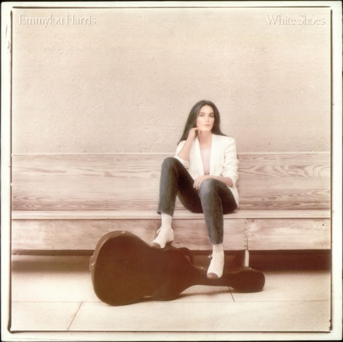 Emmylou Harris White Shoes vinyl LP album (LP record) German ELHLPWH542298