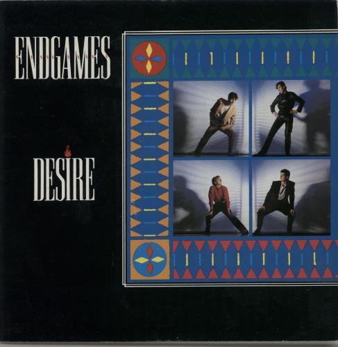 "Endgames Desire 7"" vinyl single (7 inch record) UK EGS07DE508270"