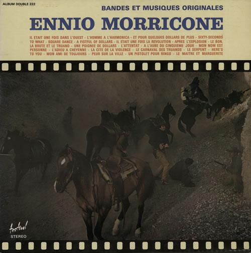 Ennio Morricone Bandes Et Musiques Originales 2-LP vinyl record set (Double Album) French ENM2LBA580975