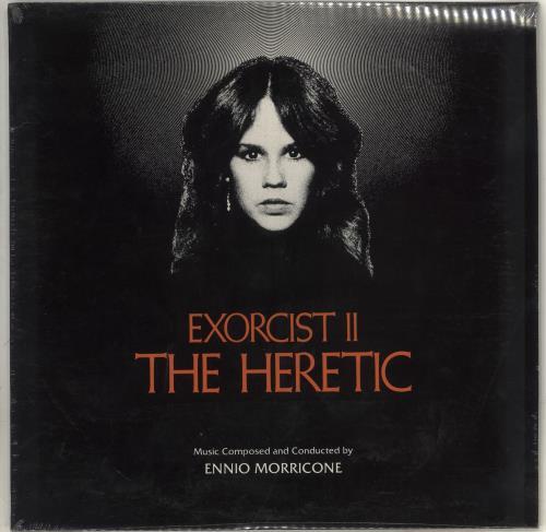 Ennio Morricone Exorcist II - The Heretic - Sealed vinyl LP album (LP record) US ENMLPEX715886