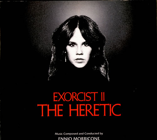 Ennio Morricone Exorcist II - The Heretic vinyl LP album (LP record) UK ENMLPEX497201