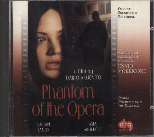 Ennio Morricone Phantom Of The Opera - Il Fantasma Dell' Opera CD album (CDLP) US ENMCDPH743826