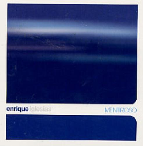 "Enrique Iglesias Mentiroso CD single (CD5 / 5"") US ENQC5ME221343"
