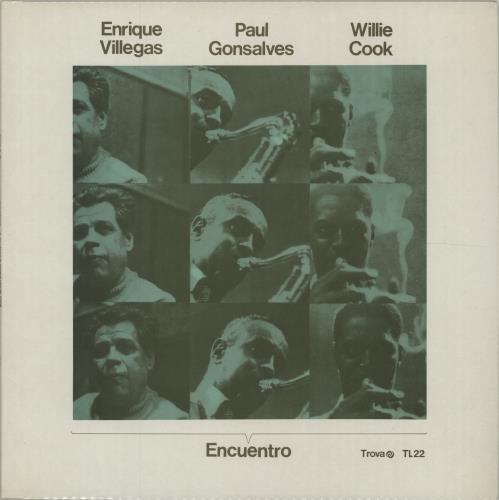 Enrique Villegas Encuentro vinyl LP album (LP record) Spanish I9VLPEN675953