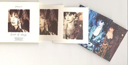 "Enya Book Of Days - Film Box CD single (CD5 / 5"") UK ENYC5BO07463"