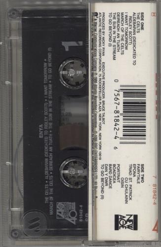 Enya Enya - Original Issue cassette album US ENYCLEN104303