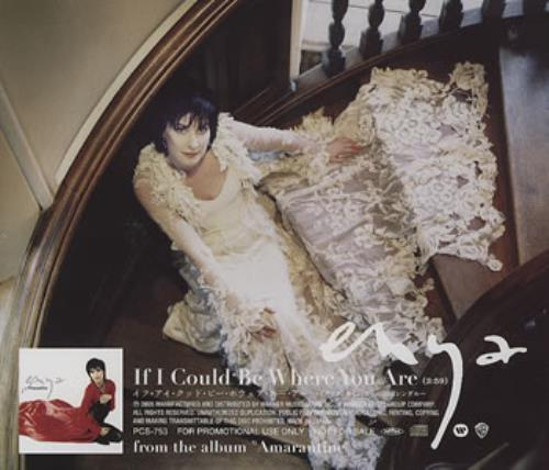"""Enya If I Could Be Where You Are - Sealed CD single (CD5 / 5"""") Japanese ENYC5IF358229"""