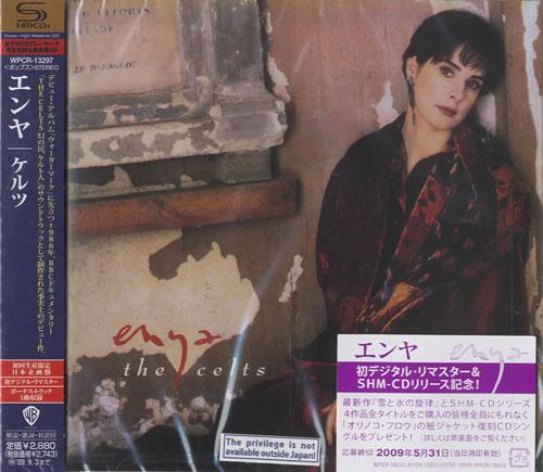 Enya The Celts SHM CD Japanese ENYHMTH459825
