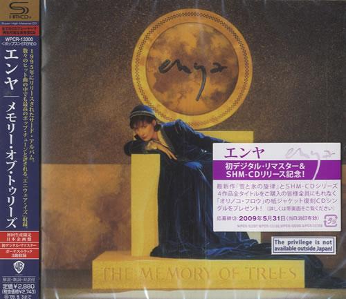 Enya The Memory Of Trees SHM CD Japanese ENYHMTH459822