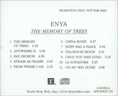 Enya the memory of the trees deutsche übersetzung