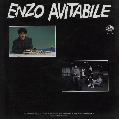 "Enzo Avitabile Sour Express 12"" vinyl single (12 inch record / Maxi-single) Spanish 2Y512SO758268"