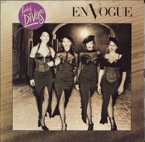 En Vogue Funky Divas vinyl LP album (LP record) German ENVLPFU770380
