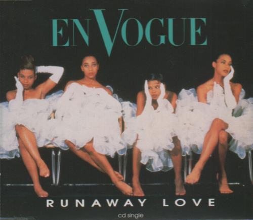 """En Vogue Runaway Love CD single (CD5 / 5"""") UK ENVC5RU33236"""