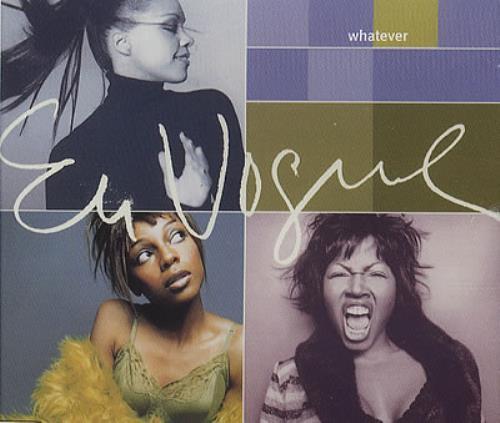 "En Vogue Whatever CD single (CD5 / 5"") UK ENVC5WH175081"