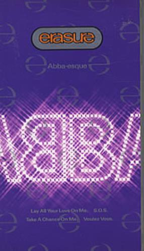 Erasure Abba-esque Video video (VHS or PAL or NTSC) UK ERAVIAB06852