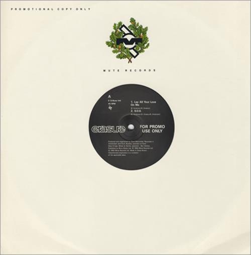 "Erasure Abba-esque 12"" vinyl single (12 inch record / Maxi-single) UK ERA12AB05111"
