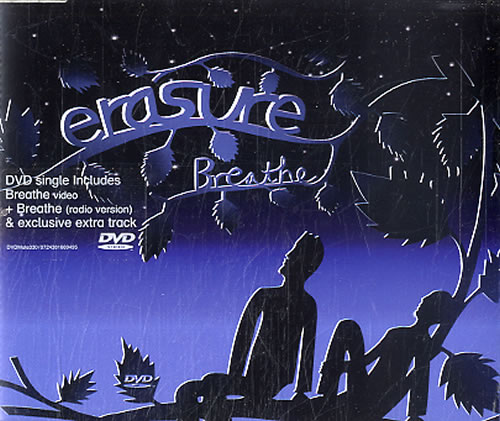 Erasure Breathe DVD Single UK ERADSBR311818