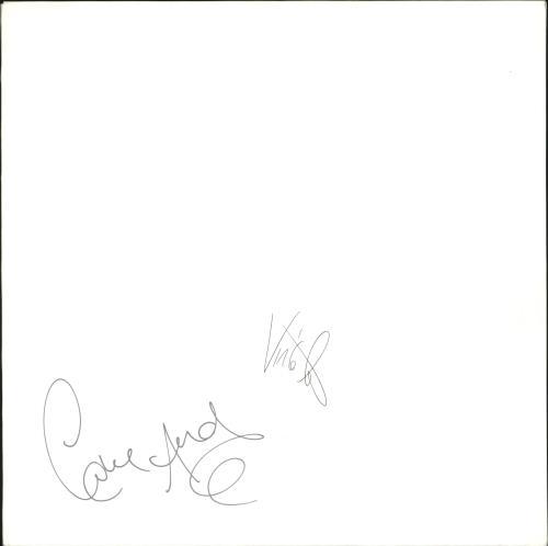 Erasure Chorus - Autographed vinyl LP album (LP record) UK ERALPCH05868