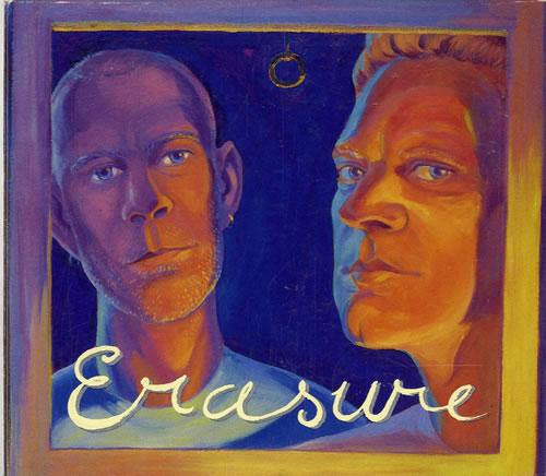 Erasure Erasure CD album (CDLP) Australian ERACDER595970