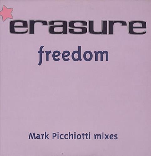 "Erasure Freedom - Mark Picchiotti Mixes 12"" vinyl single (12 inch record / Maxi-single) UK ERA12FR171118"