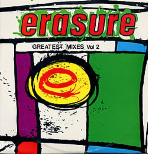 Erasure Greatest Mixes Vol 1 & Vol 2 2-LP vinyl record set (Double Album) Uruguay ERA2LGR230062