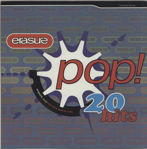 Erasure Pop! The First Twenty Hits - Display Flat display UK ERADIPO635353