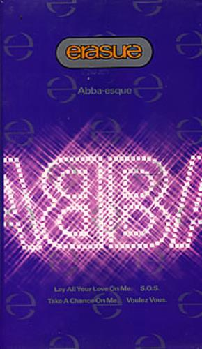 Erasure Pop 20 Hits/Abba-esque video (VHS or PAL or NTSC) UK ERAVIPO304644