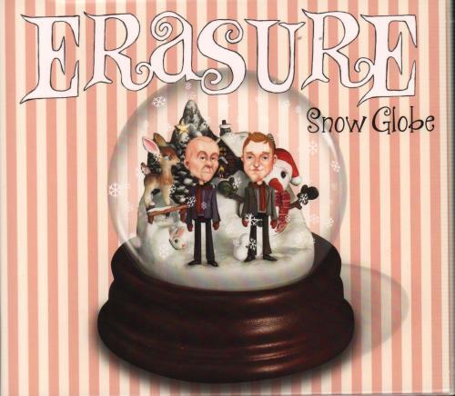 Erasure Snow Globe CD album (CDLP) UK ERACDSN597851