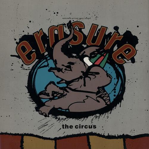 "Erasure The Circus 12"" vinyl single (12 inch record / Maxi-single) US ERA12TH373857"