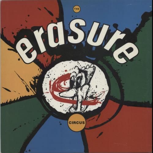 Erasure The Circus vinyl LP album (LP record) UK ERALPTH598649