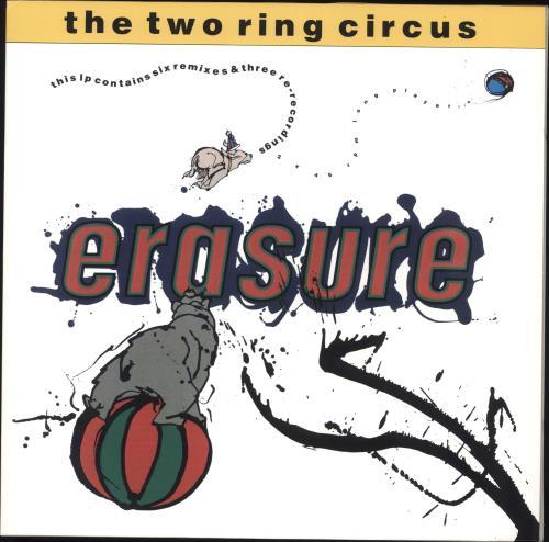Erasure The Two Ring Circus - RSD18 - Yellow Vinyl 2-LP vinyl record set (Double Album) UK ERA2LTH706998