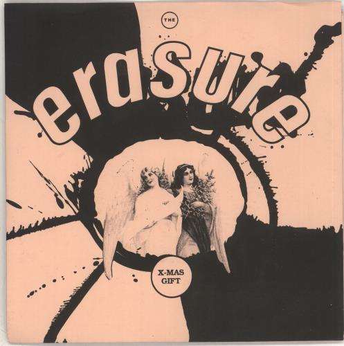 "Erasure The X-Mas Gift 7"" vinyl single (7 inch record) UK ERA07TH706875"